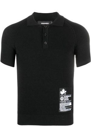 Dsquared2 Men Polo Shirts - Logo-patch polo shirt