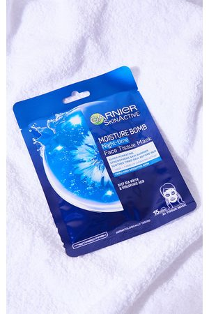 PrettyLittleThing Garnier Moisture Bomb Night-Time Deep Sea Water and Hyaluronic Acid Sheet Mask