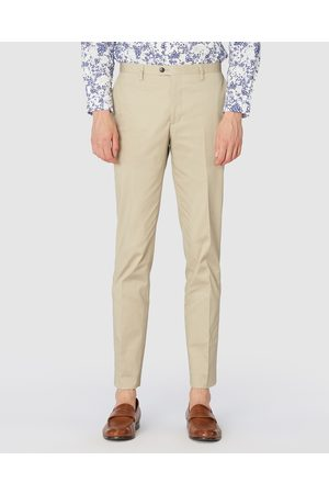 Jack London Taupe Dress Chinos - Pants (Neutrals) Taupe Dress Chinos