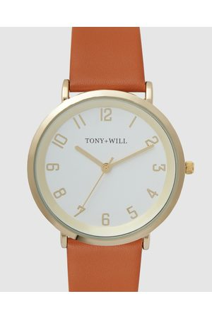 TONY+WILL Astral - Watches (SHINY LT / / TAN) Astral