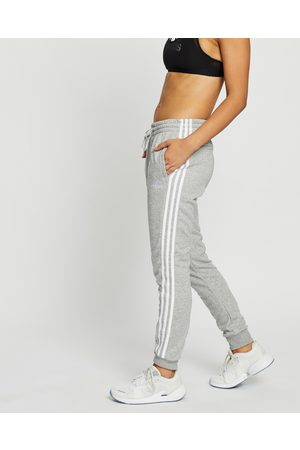 adidas French Terry 3 Stripes Pants - Track Pants (Medium Heather & ) French Terry 3-Stripes Pants