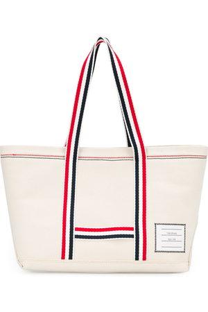 Thom Browne Striped tote bag