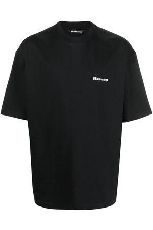Balenciaga BB embroidered logo T-shirt