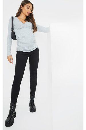 PRETTYLITTLETHING Maternity True Skinny Jeans