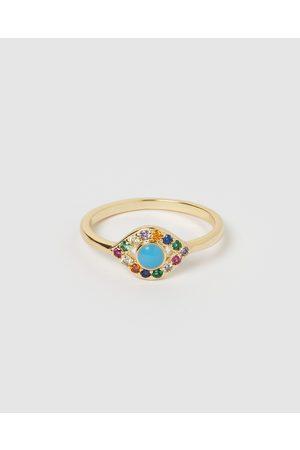 Izoa Women Rings - Jordana Eye Ring - Jewellery Jordana Eye Ring