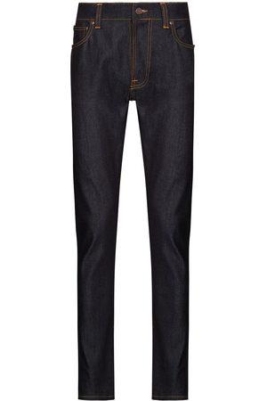 Nudie Jeans Men Slim - Lean Dean Dry slim-leg jeans