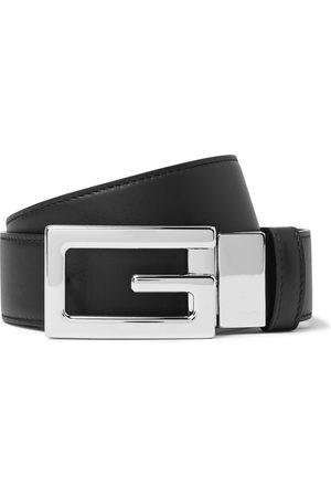 Gucci Men Belts - 3.5cm Reversible Leather Belt