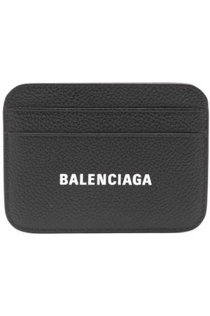 Balenciaga Logo-print Leather Cardholder - Womens