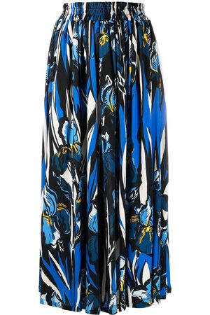 La DoubleJ Simple a-line midi skirt