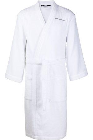 Karl Lagerfeld Logo bath robe