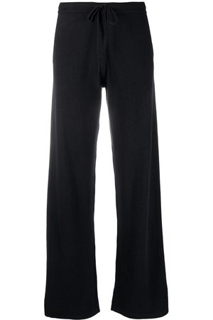 Chinti and Parker Women Joggers - Wide-leg cashmere track pants