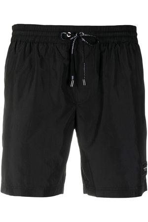 Dolce & Gabbana Logo patch swimming shorts