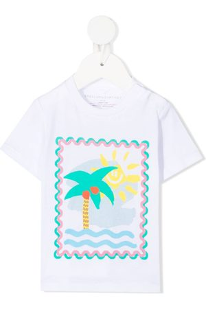 Stella McCartney Palm tree-print T-shirt