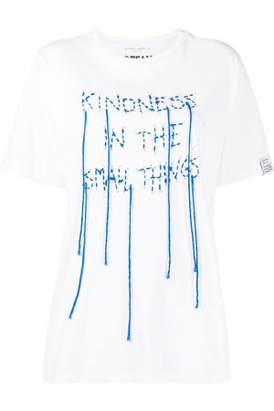 Golden Goose Stitched slogan print T-shirt