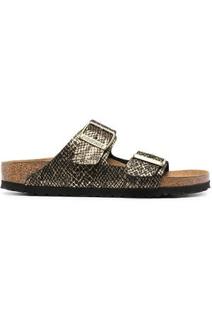 Birkenstock Women Sandals - Arizona snakeskin-effect sandals