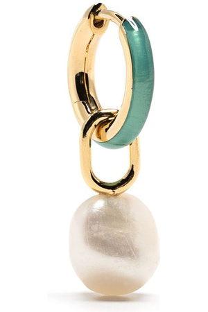 Maria Black Bluff huggie earring