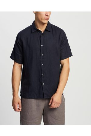 Assembly Label Casual Short Sleeve Shirt - Casual shirts (True Navy) Casual Short Sleeve Shirt