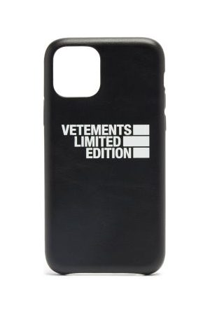 Vetements Haute Couture Leather Iphone® 11 Pro Case - Mens