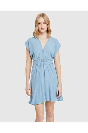 Oxford Inga Crochet Detail Dress - Dresses Inga Crochet Detail Dress