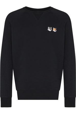 Maison Kitsuné Men Sweatshirts - Fox Head cotton sweatshirt