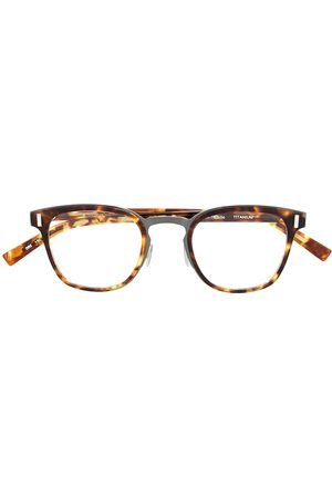 Dior Square-frame tortoiseshell effect glasses