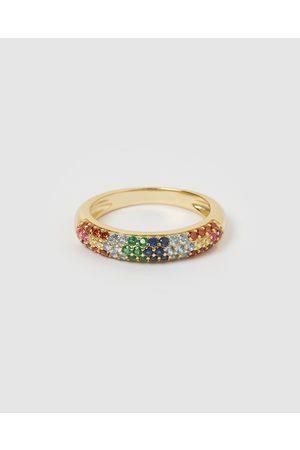 Izoa Women Rings - Riley Ring Multi - Jewellery Riley Ring Multi