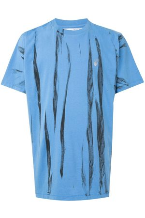 OFF-WHITE Reflective Arrows tie-dye T-shirt