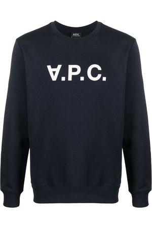 A.P.C. Women Sweatshirts - Logo print sweatshirt