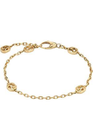 Gucci Women Bracelets - 18kt yellow GG bracelet