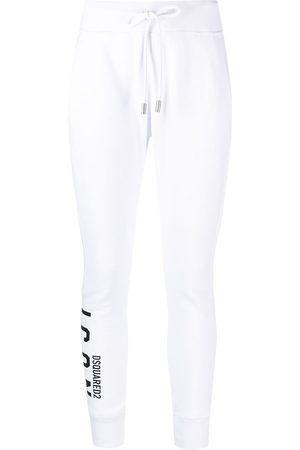 Dsquared2 Logo-print jersey track pants