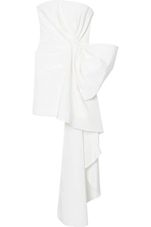 Carolina Herrera Bow-detail silk minidress