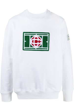 Casablanca Logo patch sweatshirt