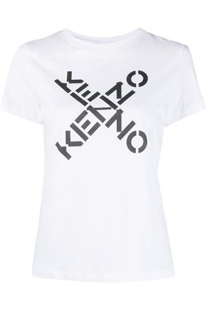 Kenzo Women Short Sleeve - Logo-print T-shirt