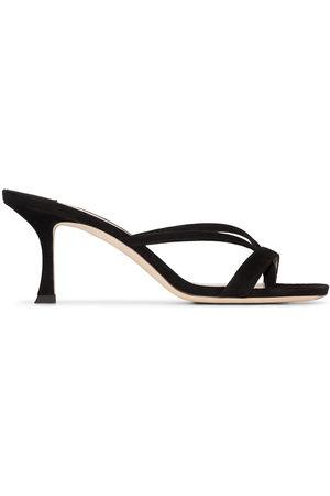 Jimmy Choo Women Sandals - Maelie 70mm suede sandals