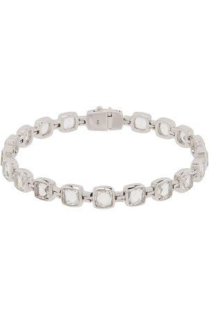 TOM WOOD Men Bracelets - Sterling rock crystal cushion bracelet