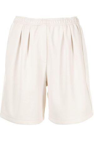 GOODIOUS Women Bermudas - Side stripe bermuda shorts