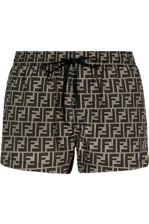 Fendi Men Shorts - Fabric shorts