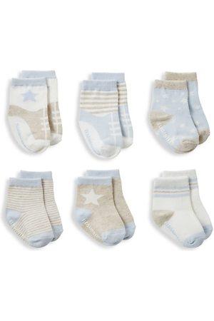 Elegant Baby Baby Socks - Baby Boy's 6-Pack Assorted Socks