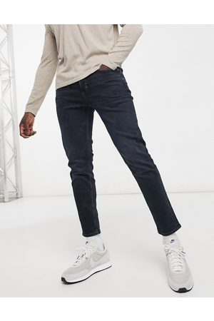River Island Tapered jeans in dark blue