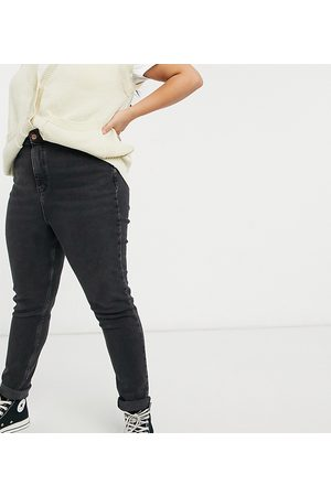 New Look New Look Curve mom jean in black
