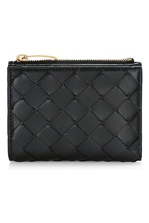 Bottega Veneta Mini Bi-Fold Leather Wallet