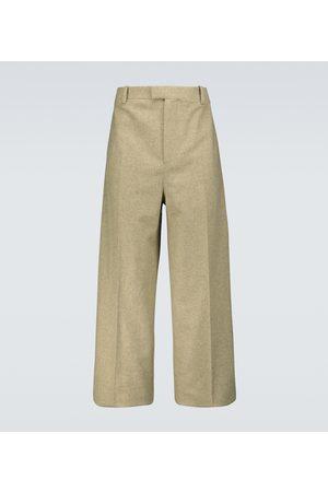 Bottega Veneta Men Formal Pants - Wool-blend flannel pants
