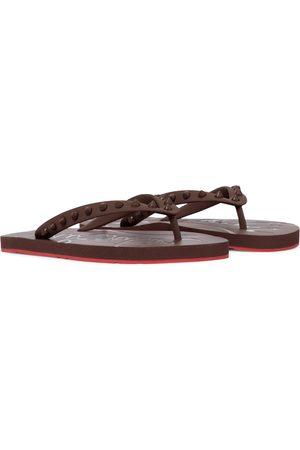 Christian Louboutin Women Sandals - Loubi Flip thong sandals