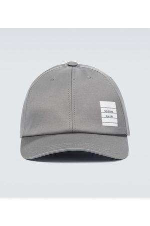 Thom Browne Men Caps - Cotton twill baseball cap