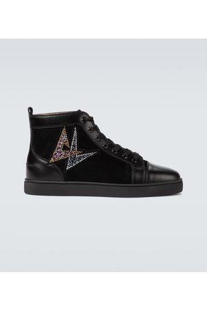 Christian Louboutin Lou Oui Flat high-top sneakers
