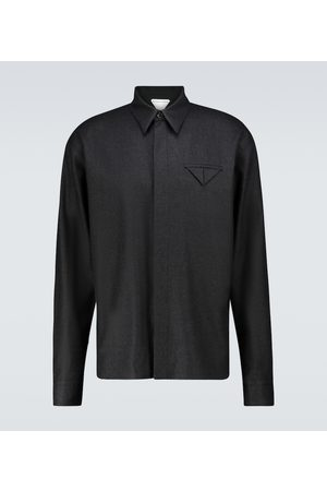 Bottega Veneta Wool flannel shirt