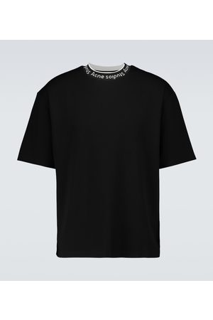 Acne Studios Men Short Sleeve - Extorr logo short-sleeved T-shirt