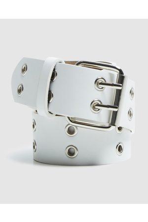 Neon Hart Belts - Nitro Double Eyelet Belt - Belts Nitro Double Eyelet Belt