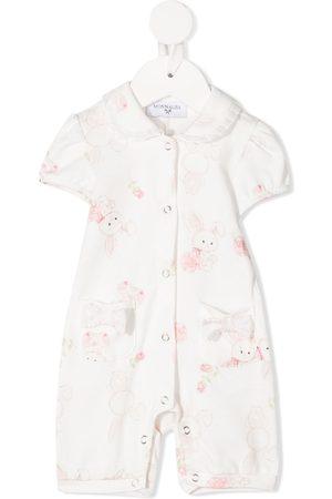 MONNALISA Bunny print babygrow