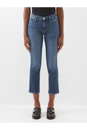 Frame Le High High-rise Straight-leg Jeans - Womens - Denim
